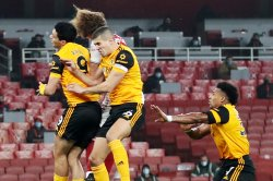Soccer player fractures skull in Arsenal-Wolves Premier League match