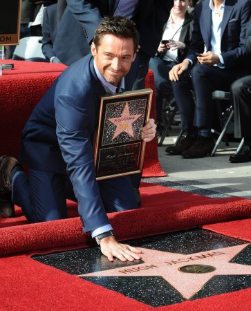 'Les Miserables' star Jackman earns star on Hollywood Walk of Fame