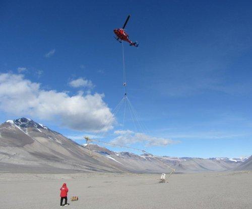 Salty groundwater found under dry Antarctic valleys