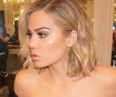 Khloe Kardashian shows off new, shorter hairstyle
