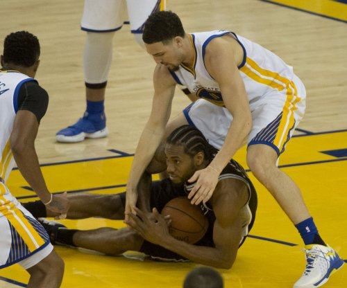 San Antonio Spurs' Kawhi Leonard (ankle) questionable for Game 3 vs. Golden State Warriors