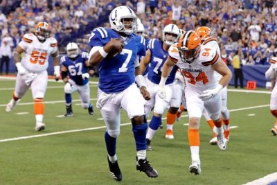 Jacoby Brissett paces Indianapolis Colts past Cleveland Browns