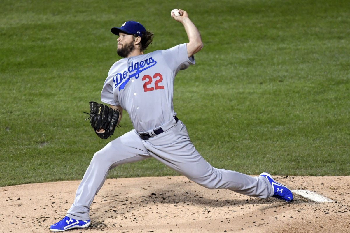 Clayton Kershaw Los Angeles Dodgers Ace Attempting To Set Aside Postseason Demons