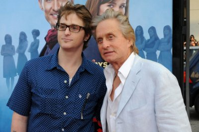 Michael Douglas' son Cameron welcomes first child