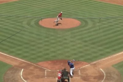 Max Scherzer strikes out Tim Tebow in less than 40 seconds