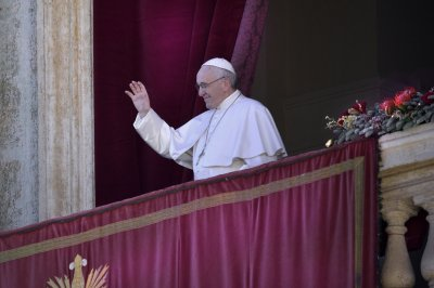 Pope during Urbi et Orbi: 'My Christmas wish is fraternity'