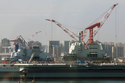 Satellite imagery shows China constructing third aircraft carrier