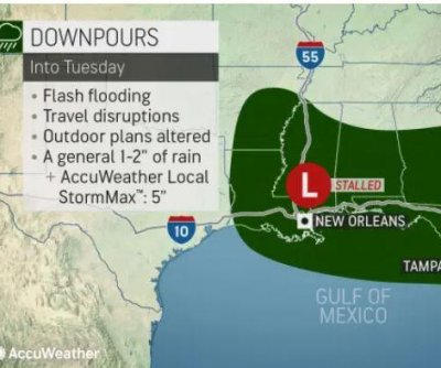 Pesky storm to keep southeastern US drenched into midweek
