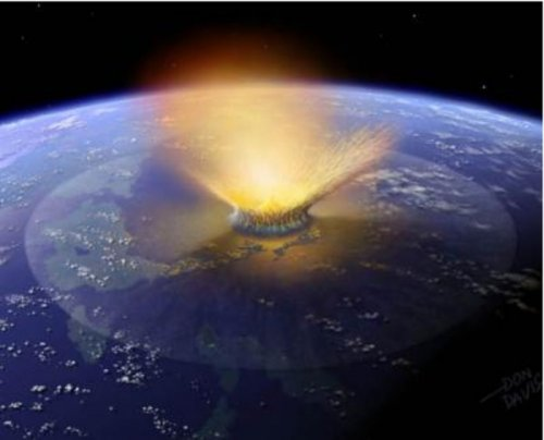 Comet, not asteroid, said dinosaur killer