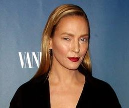 Uma Thurman shocks with new look at 'The Slap' premiere