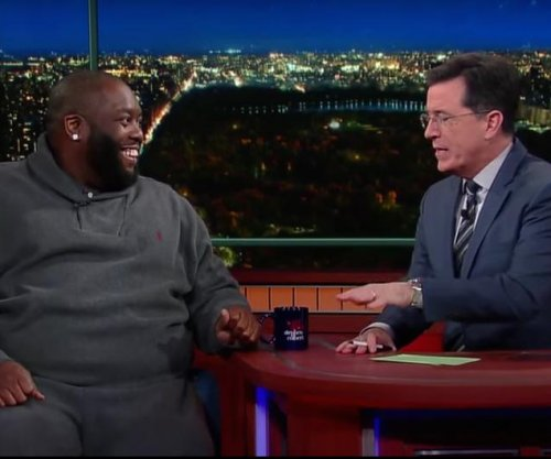 Rapper Killer Mike discusses race and education with Stephen Colbert