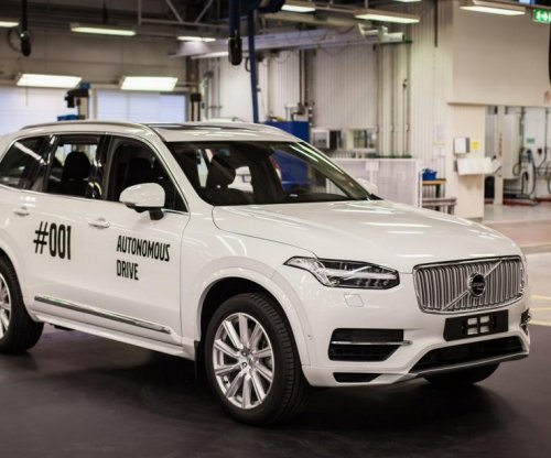 Volvo builds its first self-driving car