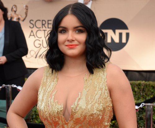 Ariel Winter fires back at critics of low-cut dress