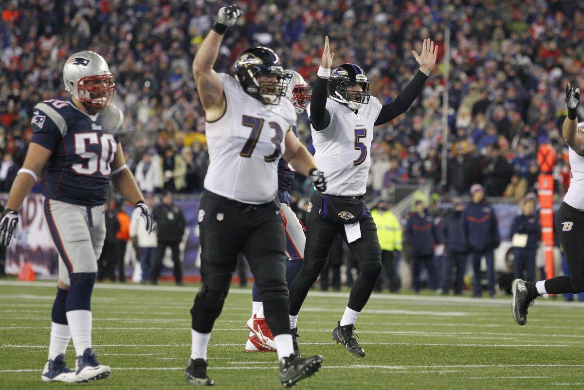 Marshal Yanda s injury forces Joe Flacco Baltimore Ravens to make