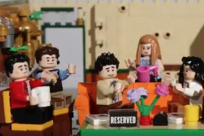 Lego's new 'Friends' set will feature Central Perk, mini Ross and Rachel
