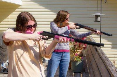 At gunpoint sex