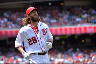 Jayson Werth drives in two in 9th as Washington Nationals beat Philadelphia Phillies