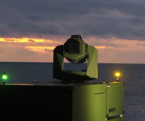 MBDA demos laser effector