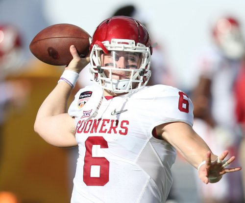 Baker Mayfield: Oklahoma Sooners QB won't start vs. West Virginia Mountaineers