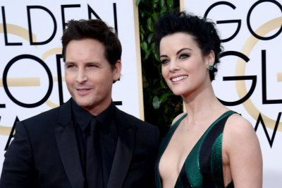 Jaimie Alexander, fiancé Peter Facinelli attend Golden Globes
