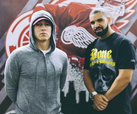 Drake introduces Eminem onstage in Detroit: 'Make some noise for the greatest rapper'