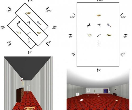 Humans compartmentalize their spatial memory
