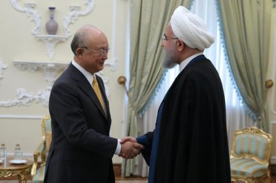 IAEA head says Iran is in compliance with nuclear agreement