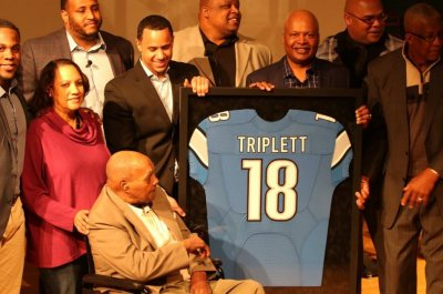 First African-American to be drafted and play in the NFL, Wally Triplett, dies