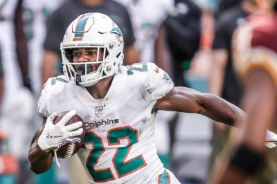 Miami Dolphins release RB Mark Walton after aggravated battery charge