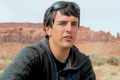 美国登山者布拉德Gobright模具秋季在墨西哥