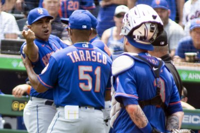 New York Mets manager Luis Rojas fined, suspended for arguing with umpires