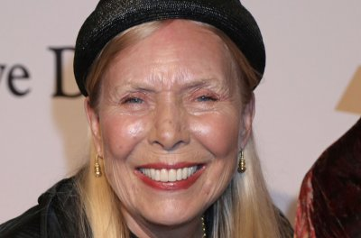 Joni Mitchell hospitalized in Los Angeles