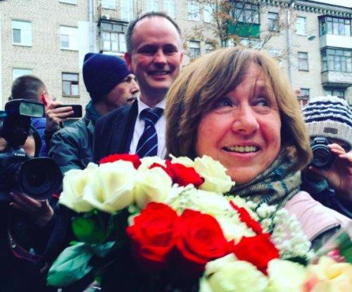 Belarusian Alexievich wins Nobel Prize in Literature