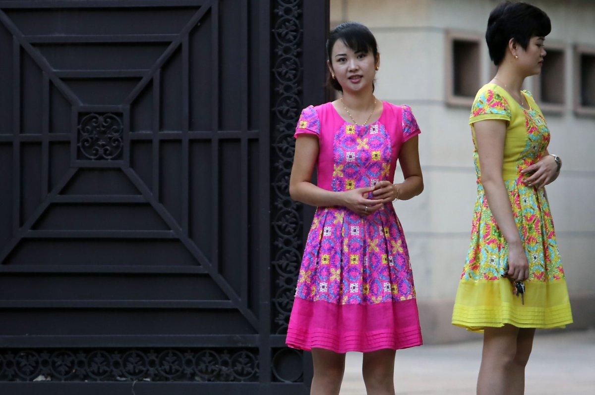 North korea bans piercings ponytails in dress code crackdown north korea bans piercings ponytails in dress code crackdown upi sciox Image collections