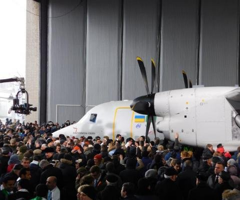 Ukraine's AN-132D takes historic first flight