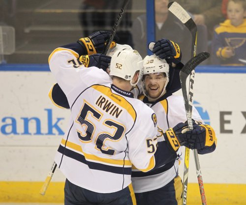 Viktor Arvidsson, Craig Smith lead Nashville Predators past Dallas Stars
