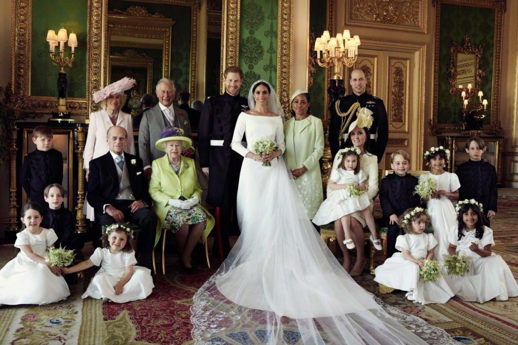 Prince Harry Meghan Markle Release Official Wedding Photos Upi Com