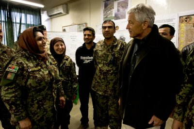 Hagel not expected to meet with Afghan president during visit