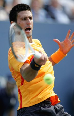 Djokovic match winning streak to eight