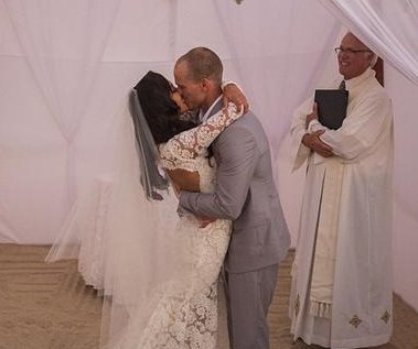 Naya Rivera shares wedding photo with Ryan Dorsey