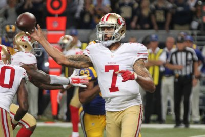 San Francisco 49ers' Colin Kaepernick might play next week