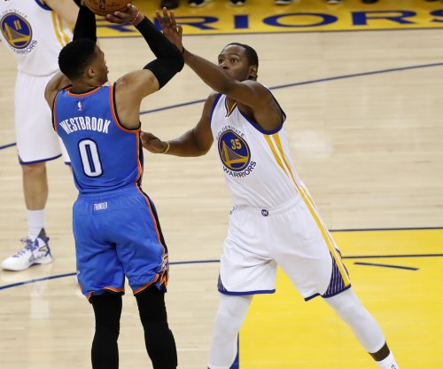 Russell Westbrook's petty postgame jab misconstrued for Kevin Durant
