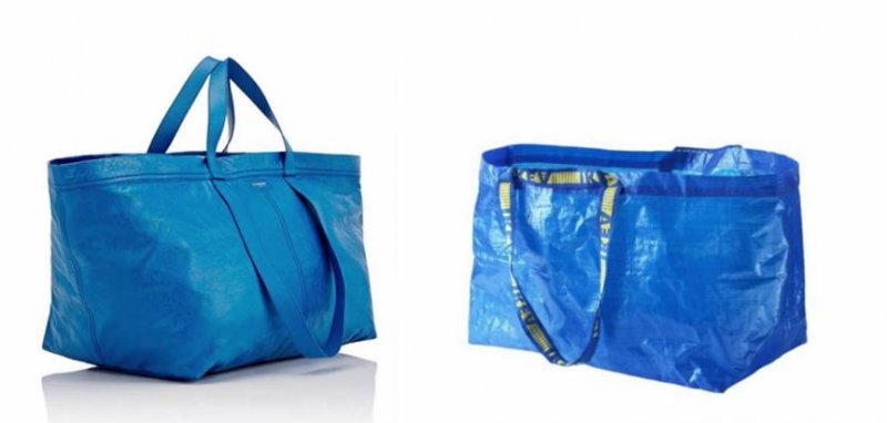Look: $2,145 high-end tote looks like an Ikea bag - UPI.com