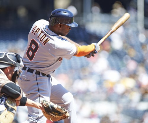 Justin Upton grand slam helps Detroit Tigers avoid sweep vs. Boston Red Sox