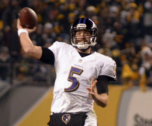 Baltimore Ravens: QB Joe Flacco resumes throwing with opener 12 days away