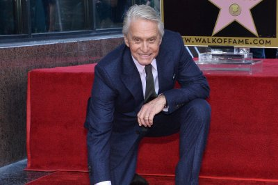 Michael Douglas honored with star on Hollywood Walk of Fame