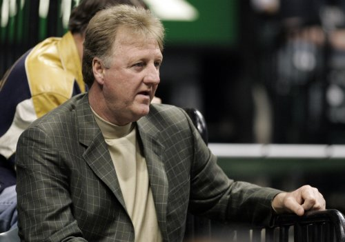 Larry Bird named NBA exec of the year