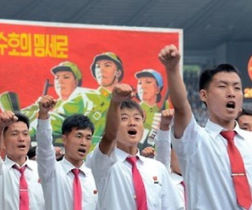 Mass rally in Pyongyang denounces 'U.S. imperialists'