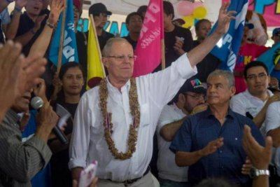 Kuczynski maintains narrow lead over Fujimori in Peru elections