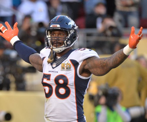 Denver Broncos LB Von Miller playing waiting game